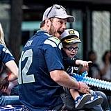 Chris Pratt and Anna Faris at Seafair Torchlight Parade 2016