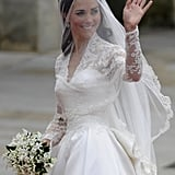 We love the softness of her veil.