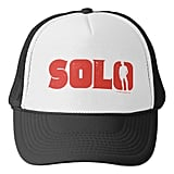 Red Solo Trucker Hat