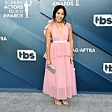 Melissa Tang at the 2020 SAG Awards
