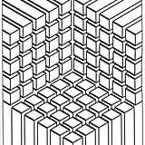 Get the coloring page: Cubes