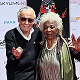 Stan Lee Hand and Footprint Ceremony Pictures July 2017