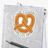 The Office Pretzel Day Sticker
