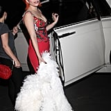 Lady Gaga Went Luxe For an Afterparty