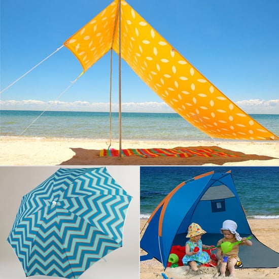 11 Great Ways to Shade Your Kids at the Beach & Best Beach Umbrellas For Kids | POPSUGAR Moms