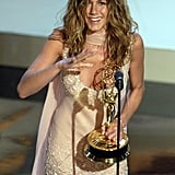 Jennifer Aniston at the 2002 Emmy Awards