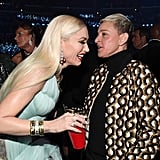 Gwen Stefani and Ellen DeGeneres at the 2020 Grammys