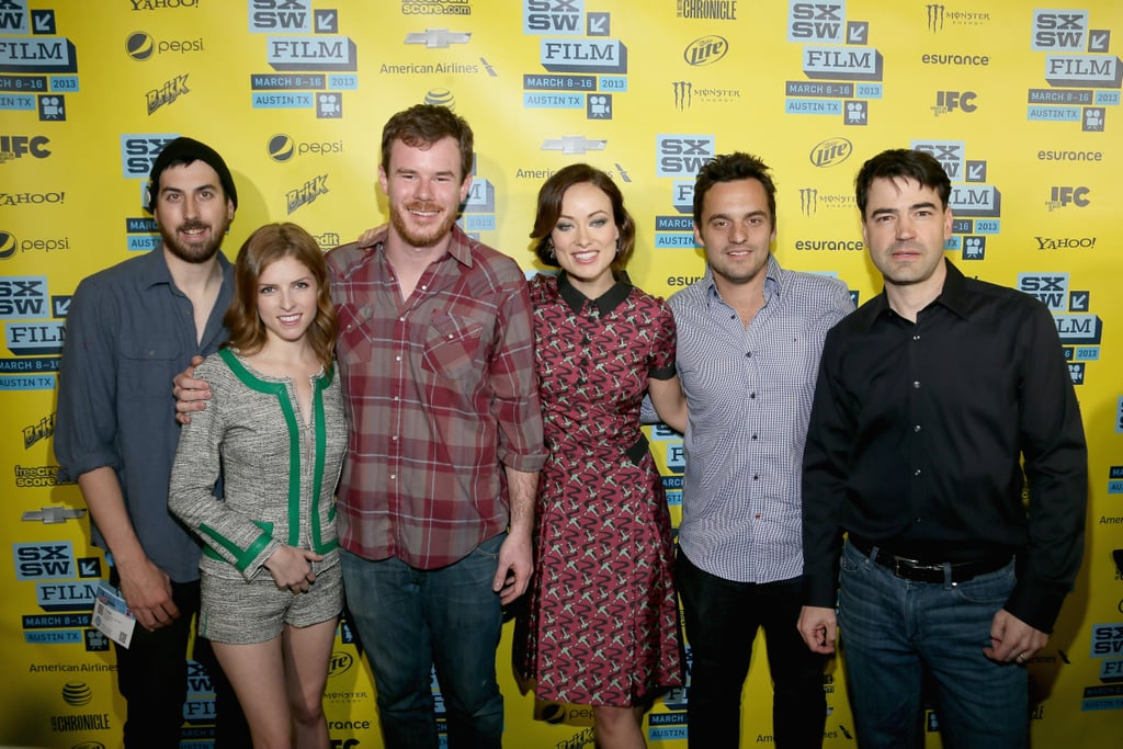 Anna Kendrick and Olivia Wilde linked up with their Drinking Buddies costars for the film's premiere at SXSW.