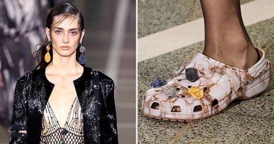 High-Fashion Crocs Make Runway Debut at London Fashion Week 2016