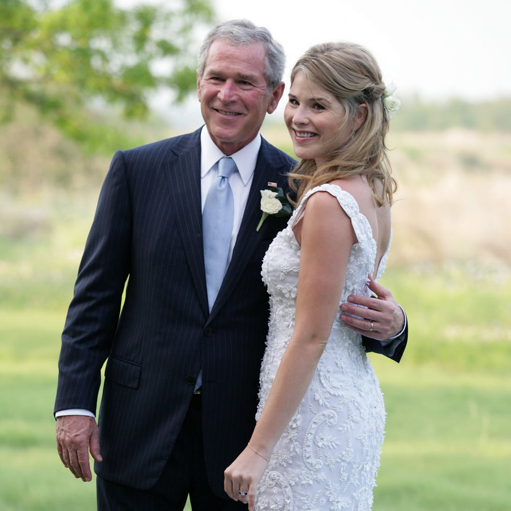 Pictures From Weddings Of American First Daughters Popsugar