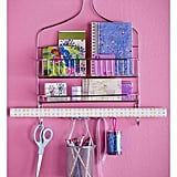Use a Shower Caddy to Organize Stationary, Notebooks, and Pens