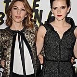 Sofia Coppola posed with Emma Watson at the Bling Ring premiere in LA.