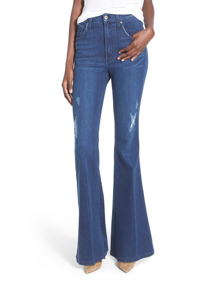 James Jeans 'Barcelona' High Rise Flare Jeans ($198)