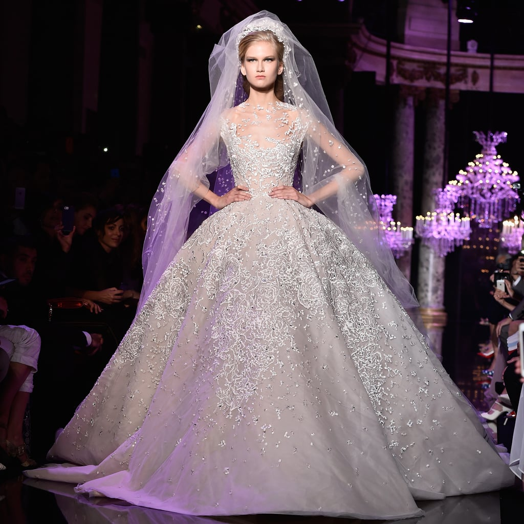 Haute Couture Wedding Gown: Bridal Gowns At Paris Haute Couture Fashion Week AW 2014