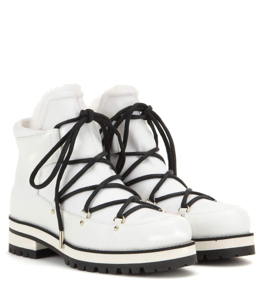 Jimmy Choo Ditto Flat leather boots ($1,350)