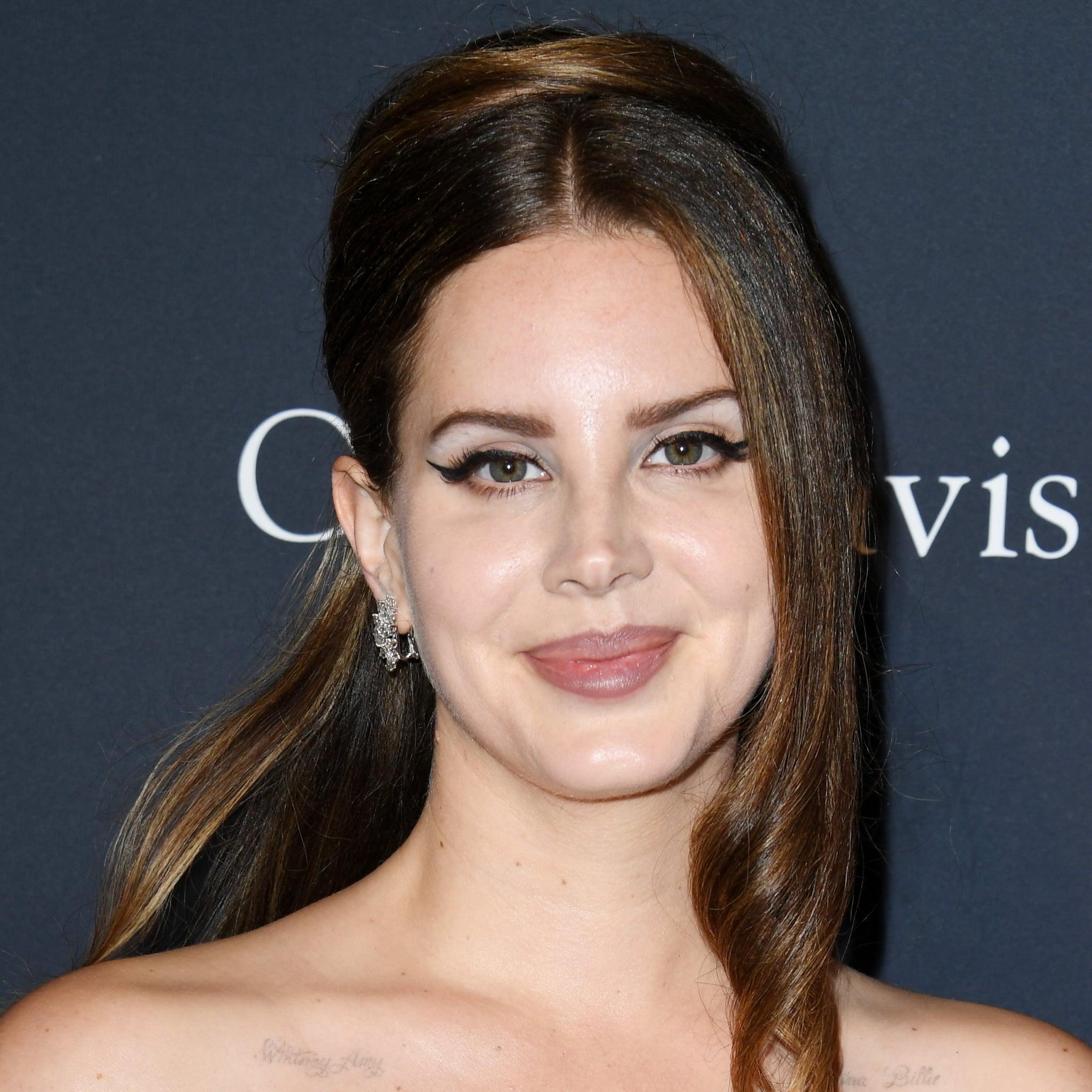 Details On Lana Del Rey S Champagne Blond Color Treatment Popsugar Beauty