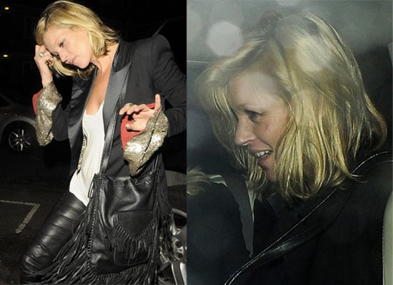 Photos Of Kate Moss Out At The Kills Gig At London's Astoria With Her Mum And Alison Mosshart