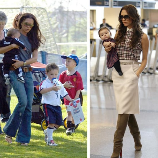 Victoria Beckham Pictures With Kids (Video)