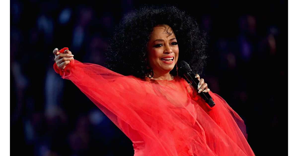 Grammys 2019 Australia: Diana Ross And Her Family At The 2019 Grammys