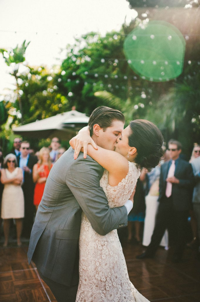 The Full-Body Kiss | Bride and Groom Photo Ideas | POPSUGAR ...