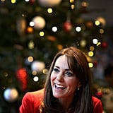 Kate Middleton attended the Anna Freud Centre Christmas Party in 2015.