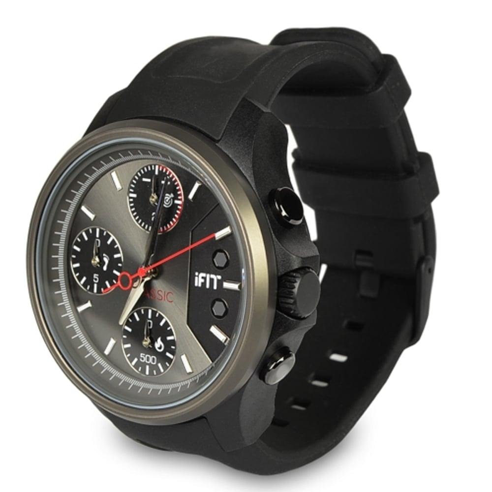 iFit Men's Classic Watch and Fitness Tracker