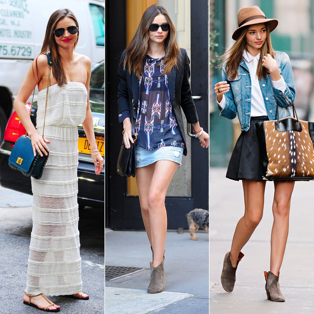 Best summer street style popsugar fashion - Miranda Kerr S Spring Weekend Style Guide
