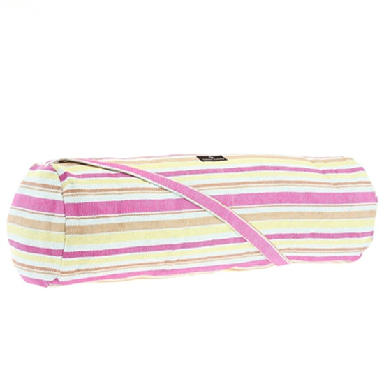 Stripes are all the rage right now. A Recycled Paper Mat Bag ($23) from Hugger Mugger is an eco-friendly and trendy pick.