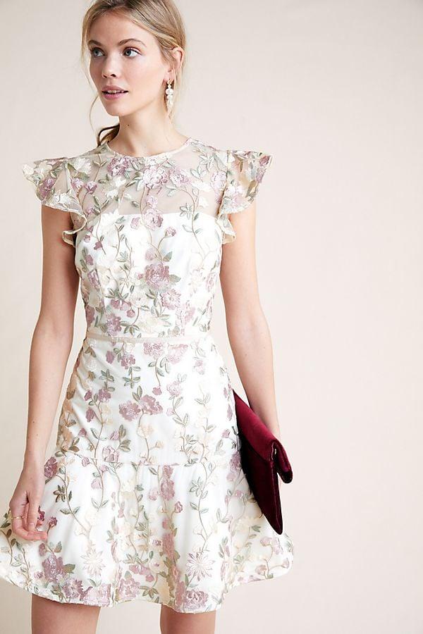 109bc8c8 ML Monique Lhuillier Estate Floral Dress   Best Wedding Guest ...