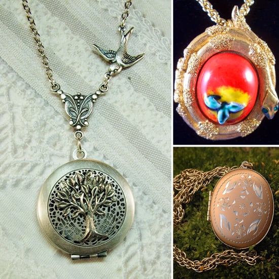 The Prettiest Perfume Lockets From Etsy