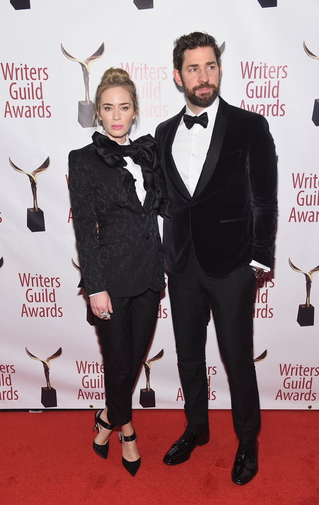Emily Blunt and John Krasinski Twinned in Tuxedos, and I Can't Even Get My BF to Text Me Back