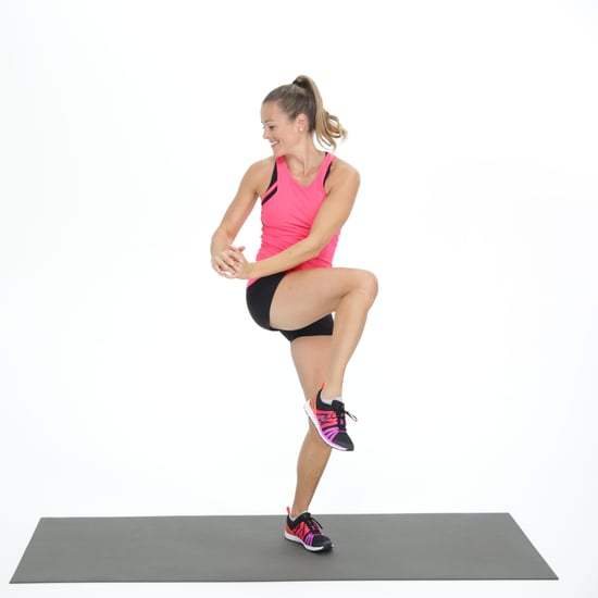 Standing Ab Exercise GIF