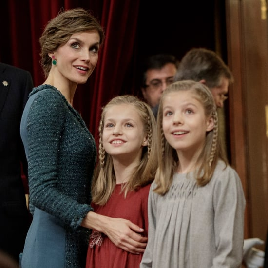 Queen Letizia and Her Daughters November 2016