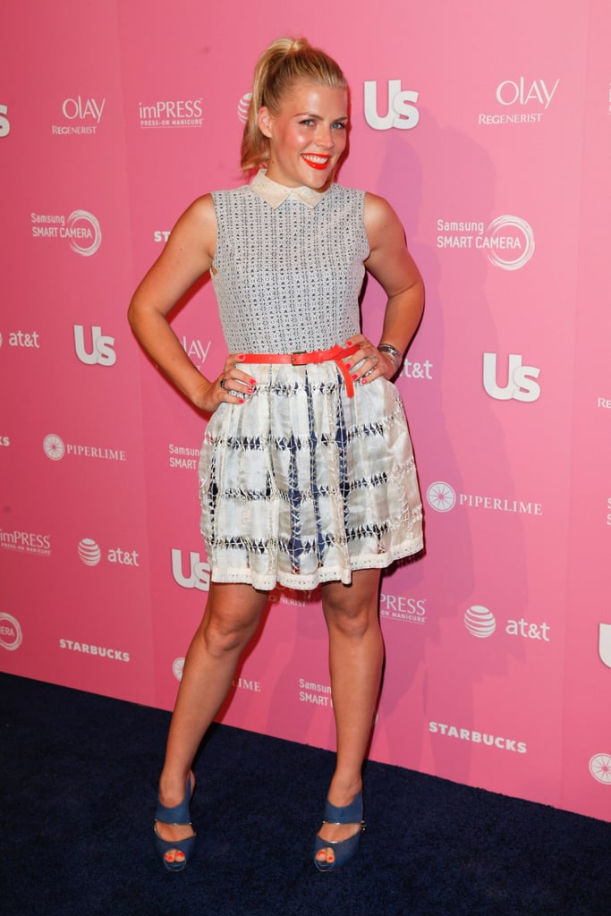 Busy Philipps at the Us Hot Hollywood party.