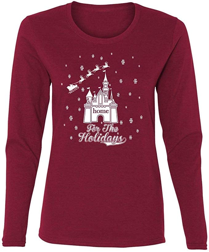 Home For the Holidays Castle T-Shirt
