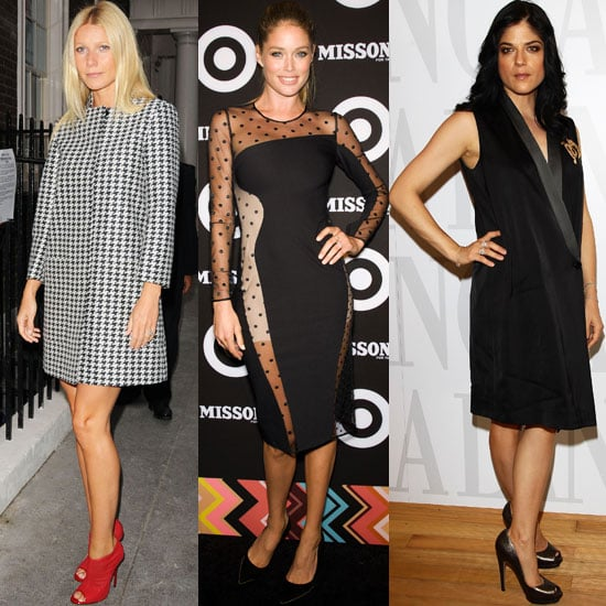 Gywneth Paltrow, Selma Blair, Doutzen Kroes in Stella McCartney