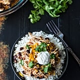 Salsa Chicken Rice Bowls