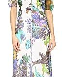 Michelle Mason Floral-Print Button-Front Gown ($793)