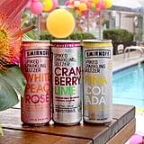 Smirnoff Spiked Sparkling Seltzer White Peach Rosé, Cranberry Lime, and Piña Colada
