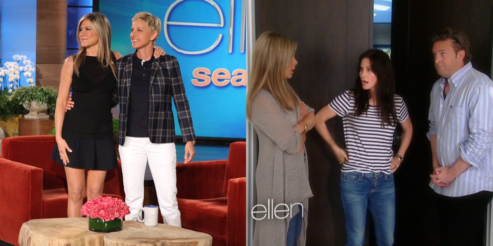 Jennifer Aniston Has a Friends Reunion on Ellen!