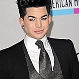 Adam Lambert, who performed at the American Music Awards back in 2009, walked the red carpet.