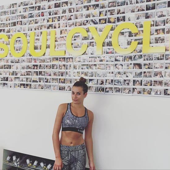 Lea Michele Exercise Instagram