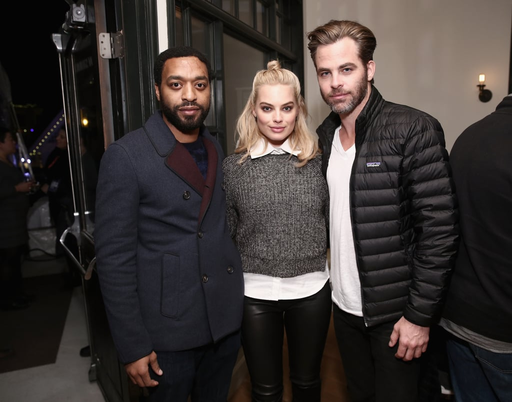 Chiwetel Ejiofor, Margot Robbie, and Chris Pine attended a special dinner during their time at Sundance.