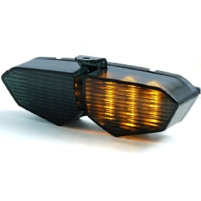 Keep your hands and balance in check with the Yamaha LED Sport Bike Break and Turn Signal Tail Light  ($32) which signals when you are turning left or right or braking.