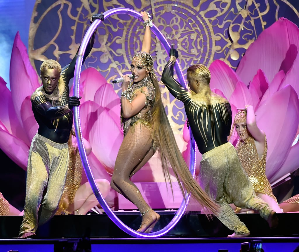 Jennifer Lopez Performance Look Billboard Latin Awards 2018