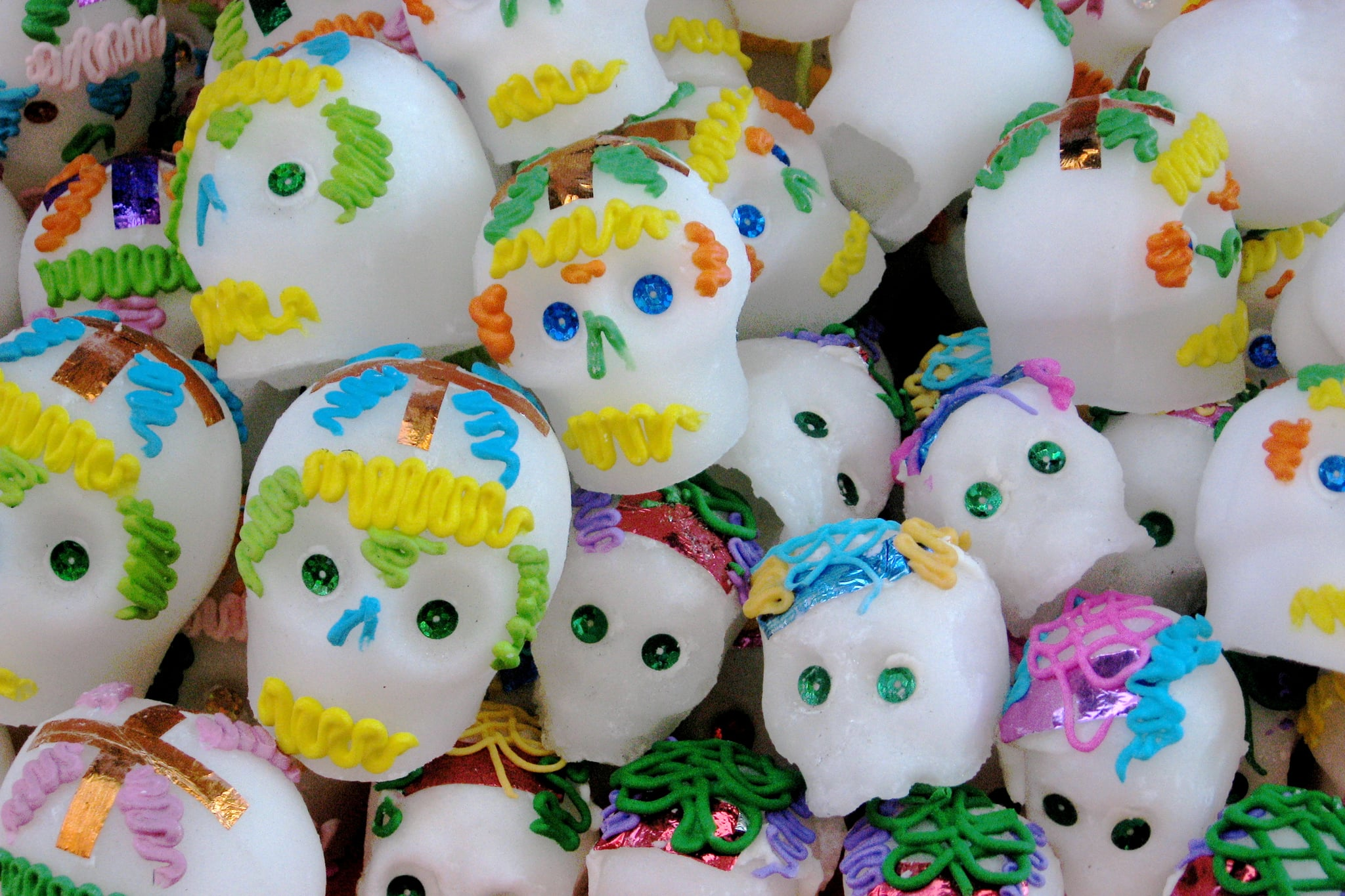 Whats The Meaning Behind Day Of The Dead Sugar Skulls Popsugar