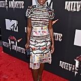 Lupita Nyong'o at the 2014 MTV Movie Awards