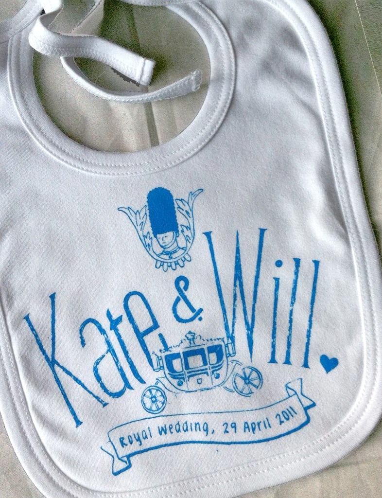Royal Wedding Bib ($15)