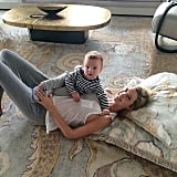Ivanka Trump and Joseph Kushner enjoyed some floor time together. Source: Instagram user ivankatrump
