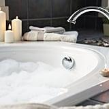 Take a bubble bath together.